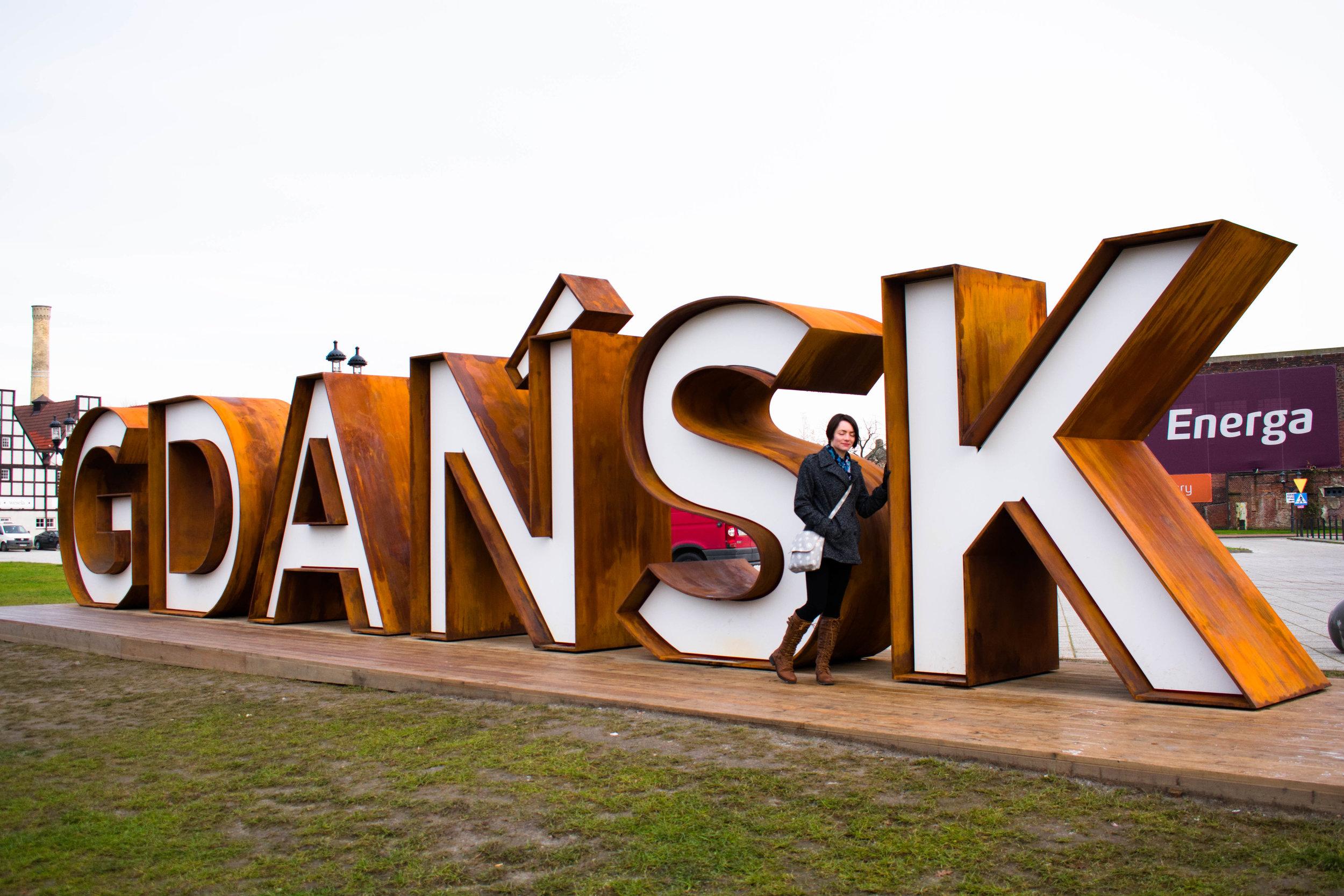 Gdansk Sign