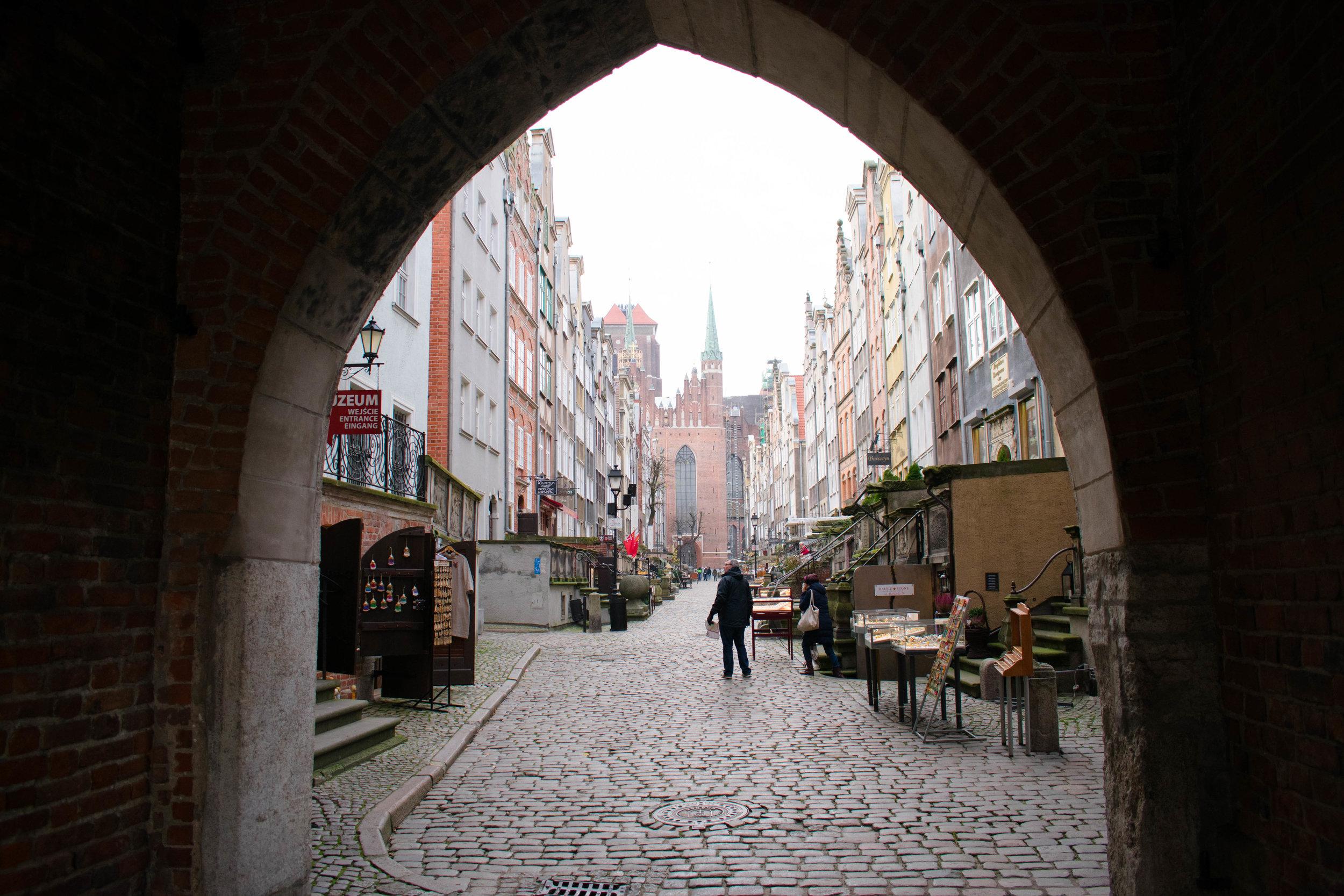 Mariacka (St. Mary's) Gate