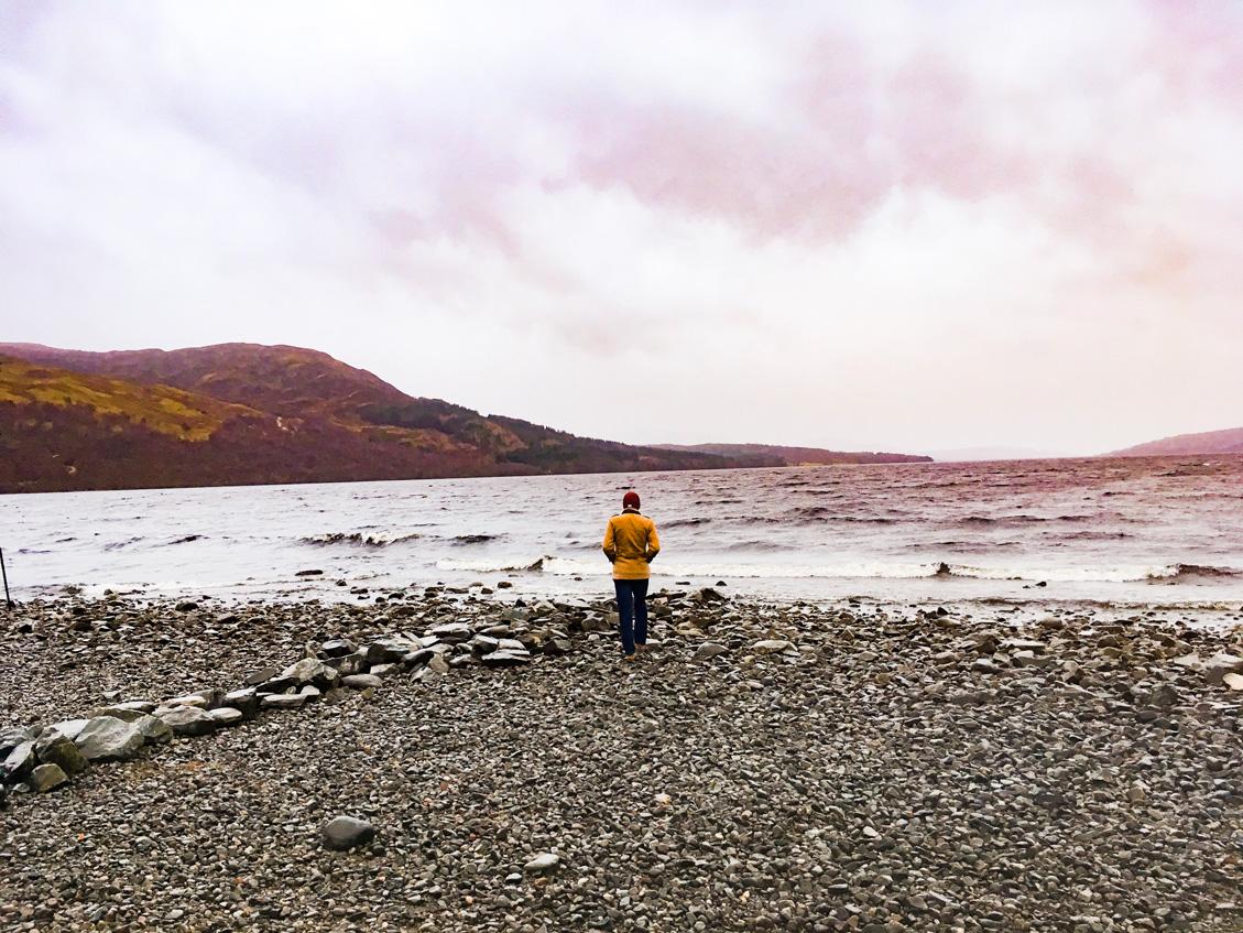 Marcin at Loch Rannoch