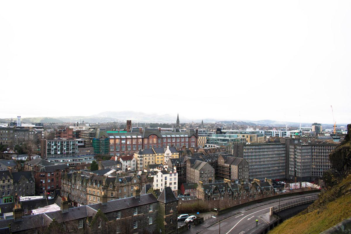 Edinburgh Castle - Plus - Why We Focus on Smaller Towns