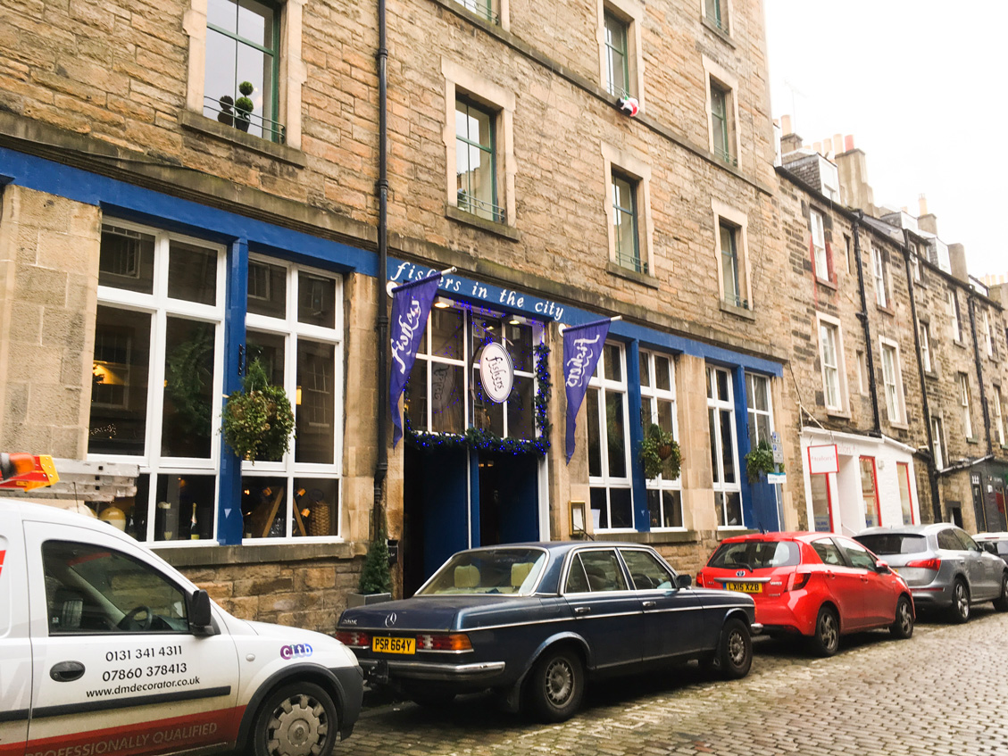 Fishers in the City - on Thistle Street