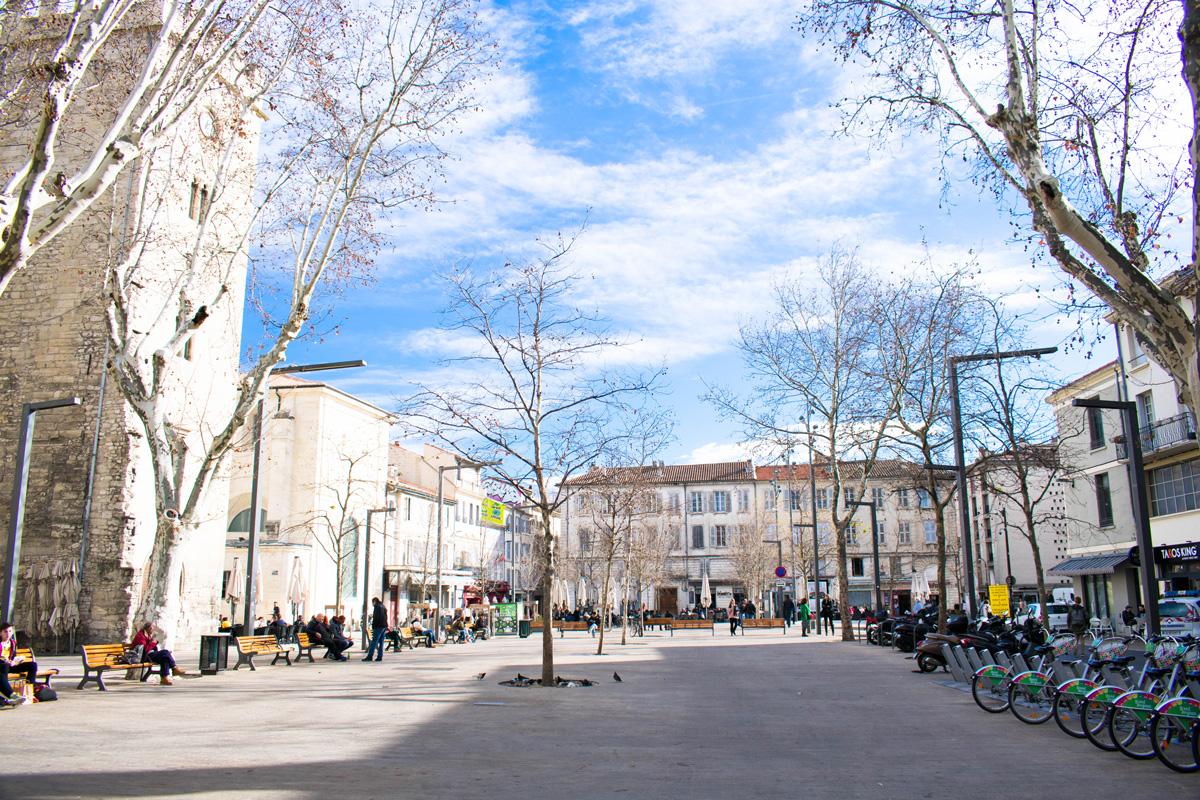 Place Pie, near Les Halles indoor market