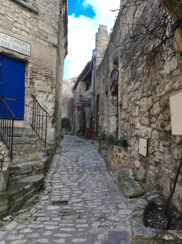 Streets of Les Baux