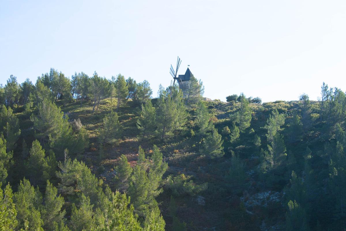 Moulin Bonnet - an easy hike from Boulbon