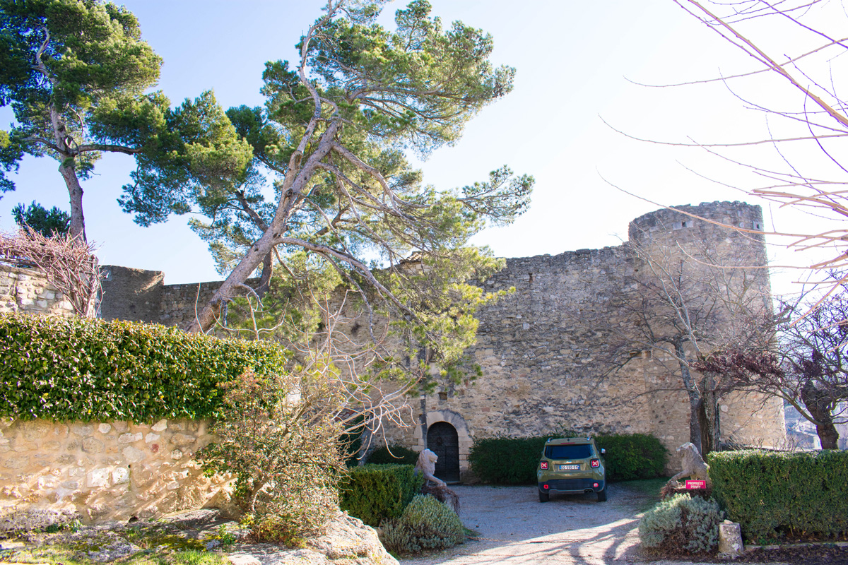 Chateau in Ménerbes, which is A private residence and not open to the public