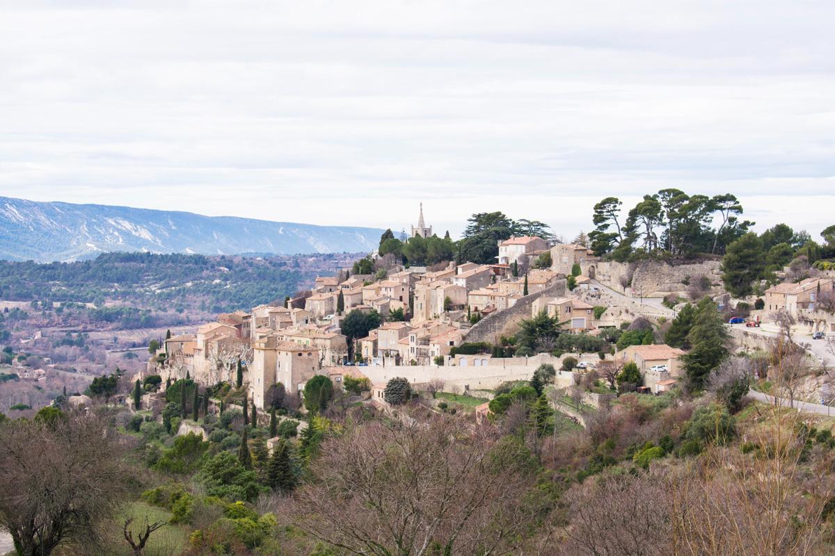 View of Bonnieux