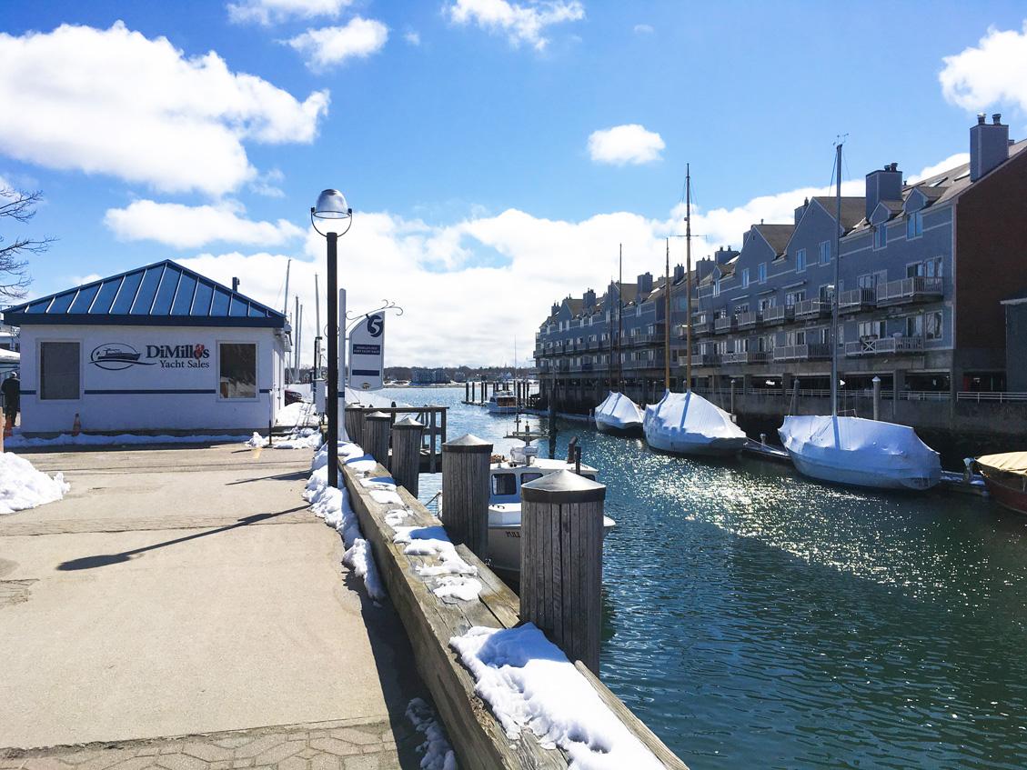 Portland, Maine waterfront