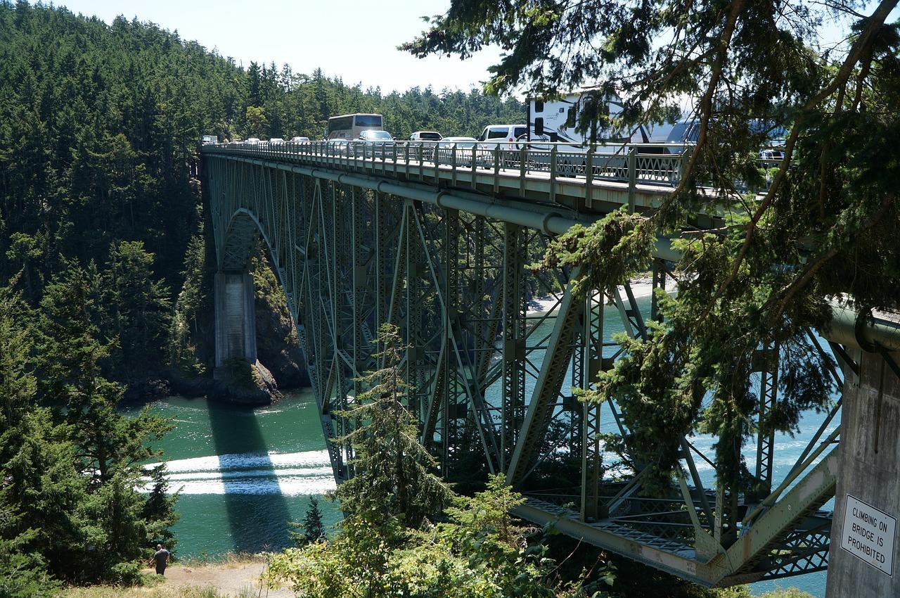 The bridge at Deception Pass