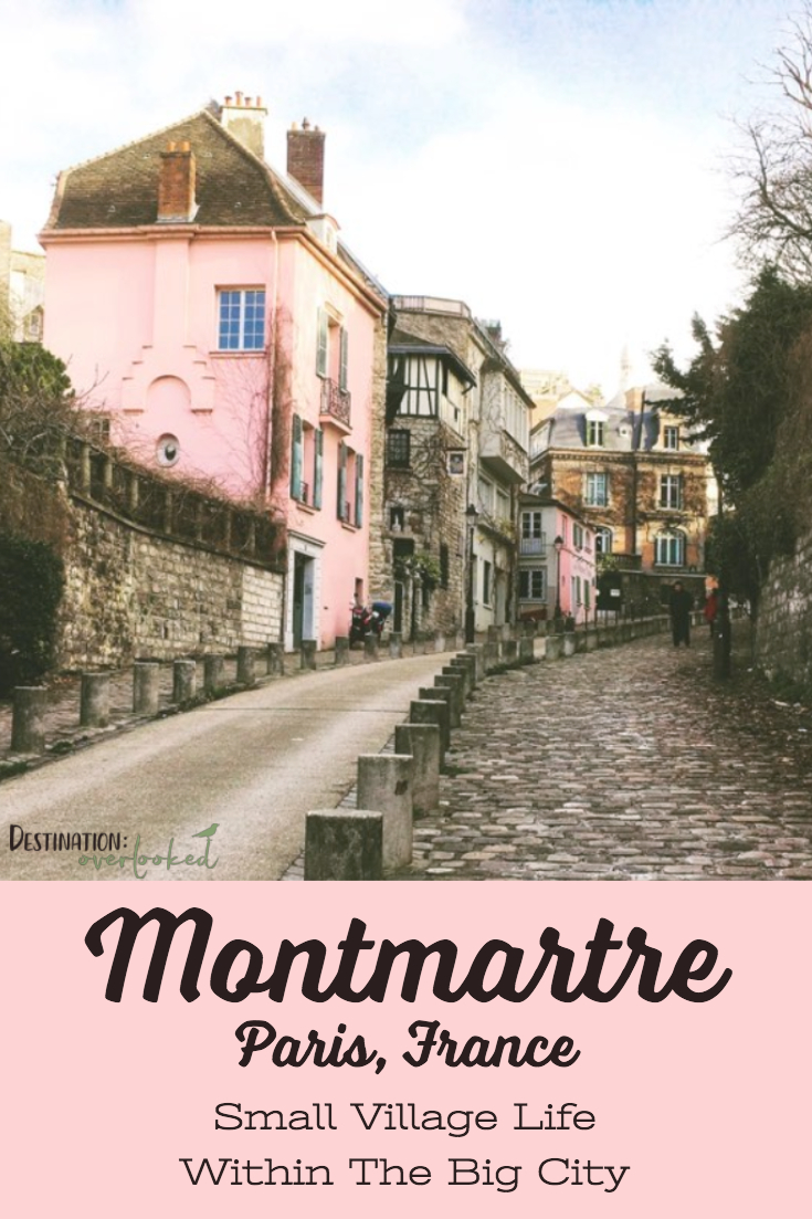 Montmartre in Winter: Small Village Life Within The Big City - Paris, France #Paris #Europetravel #montmartre