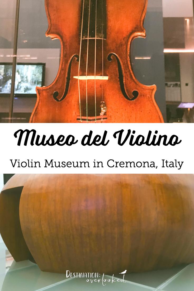 Museo del Violino - Violin Museum in Cremona Italy | #violin #italy #europetravel #milandaytrip #travelblogger