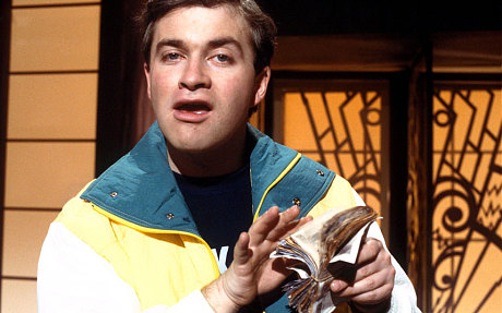Comedian Harry Enfield as the brash, money obsessed 'Loadsamoney'