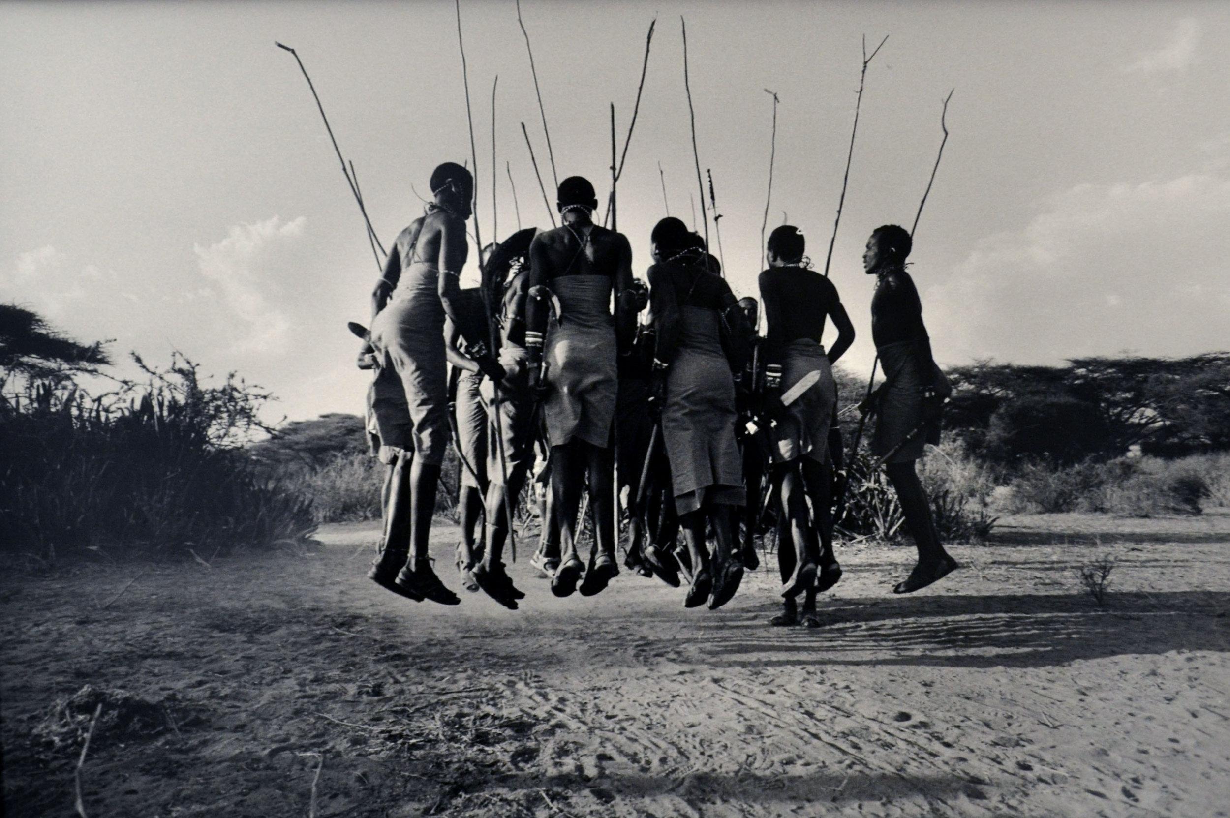 Maisai Dancers, Kenya
