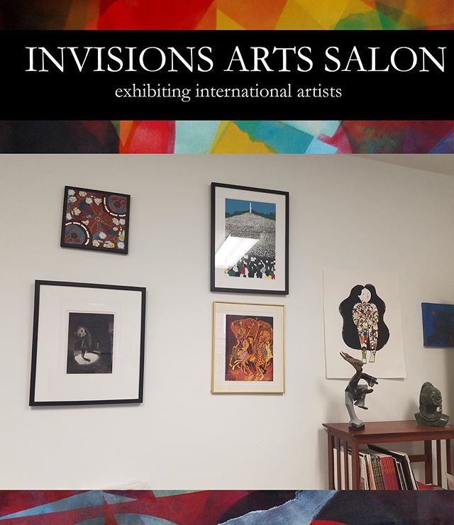 Join us tomorrow, June 29th for our Invision Arts Salon and soft gallery opening! This event takes place from 2-4 pm and will exhibit beautiful pieces from both national and international artists. Click the link in our bio for full event details!