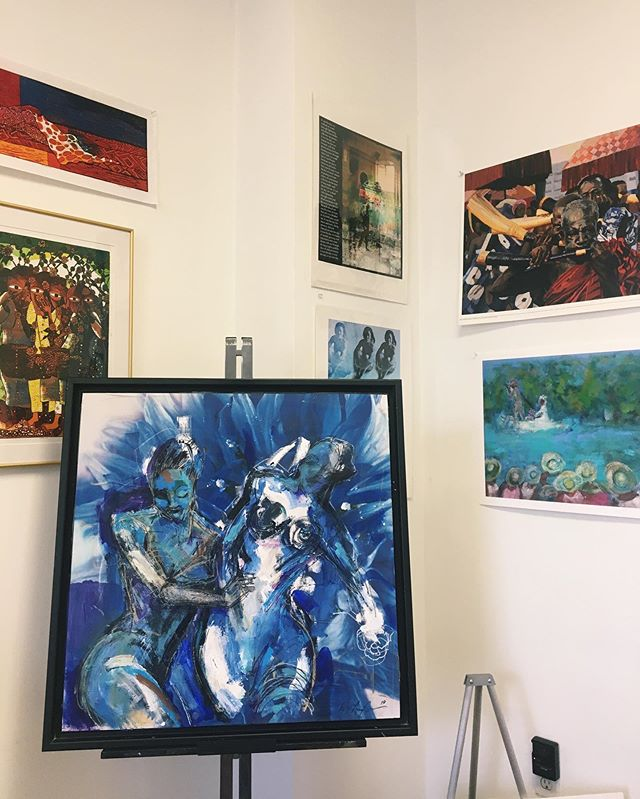 Thank you to everyone to came out to the Invisionsarts Salon last weekend! Here is a sneak peek of some of the work that was featured—to see more, check out our website (link in bio) or stop by our location in DC. Stay tuned to hear about some exciting things coming up soon!