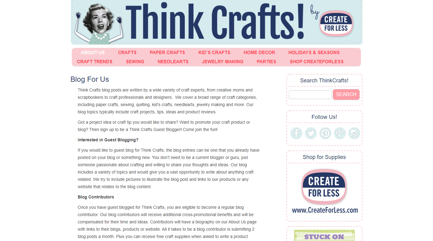 think crafts guest post