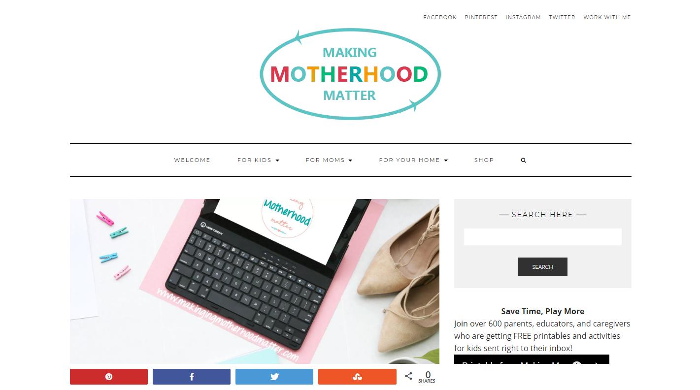making motherhood matter