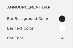 style your announcement bar in squarespace.jpg