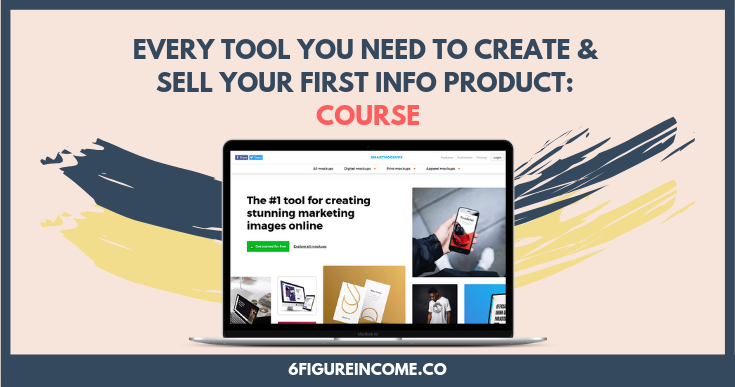 every tool you need to create and sell your first info product course.png