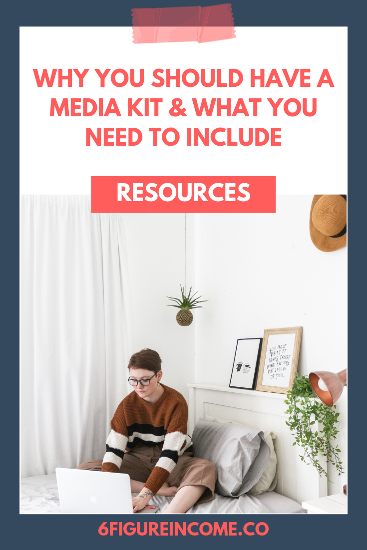 Why you should have a media kit and what you need to include