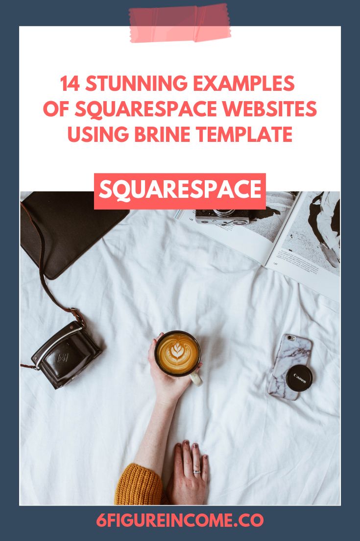 14 Stunning examples of Squarespace websites using Brine template