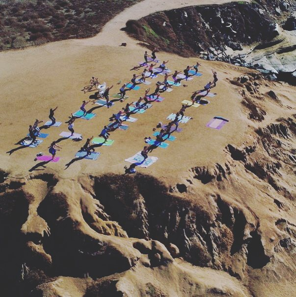 Yoga Jawn Sunset cliffs