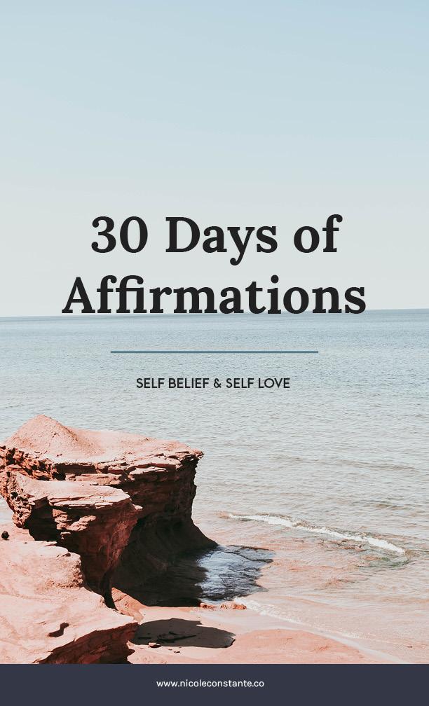 Free Affirmations