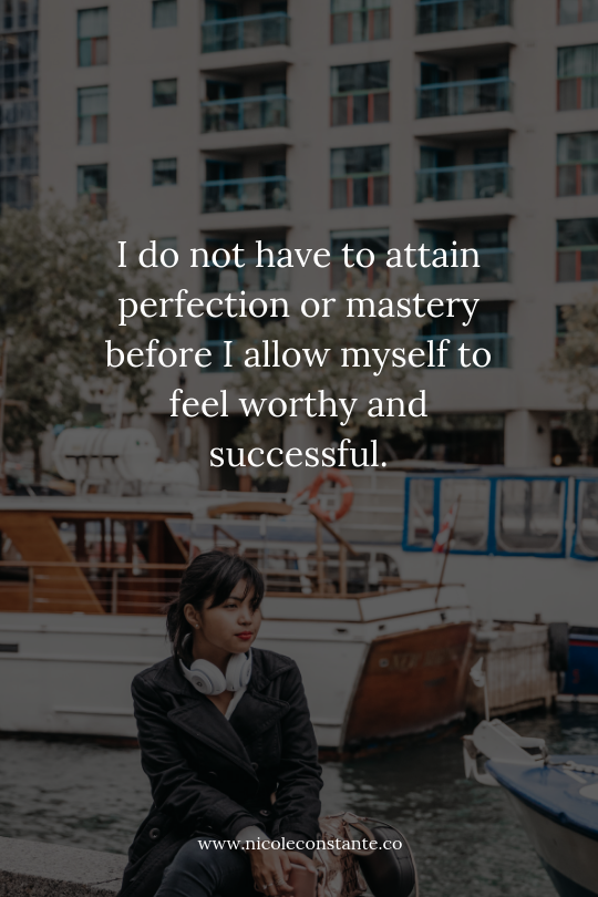 Overcoming Impostor Syndrome | How to Silence the Inner Critic | Nicole Constante | Lifestyle Design and Personal Development Blog