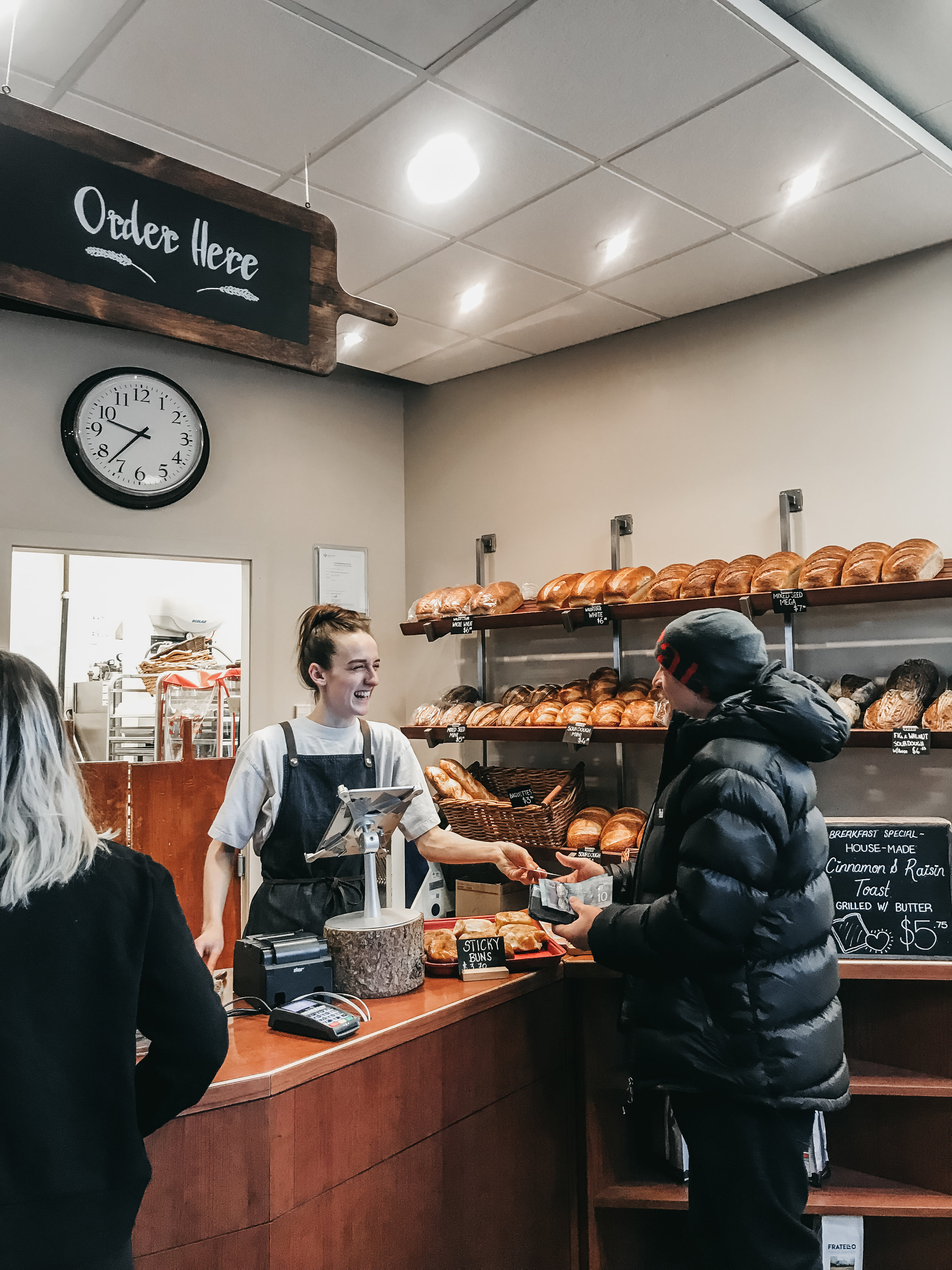 best coffee shops in banff | top cafe | Nicole Constante | Wild Flour Banff