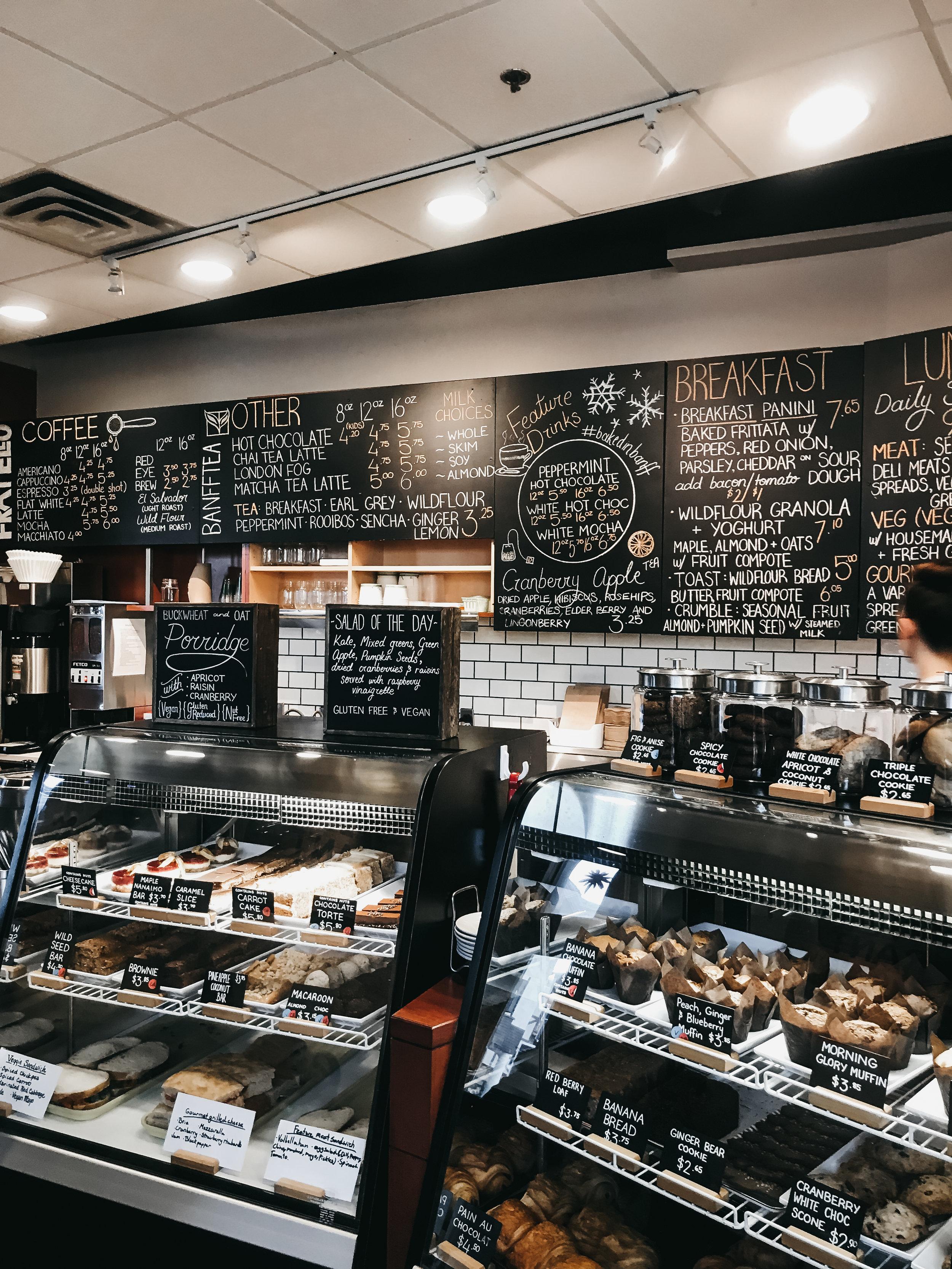 best coffee shops in banff   top cafe   Nicole Constante   Wild Flour Banff