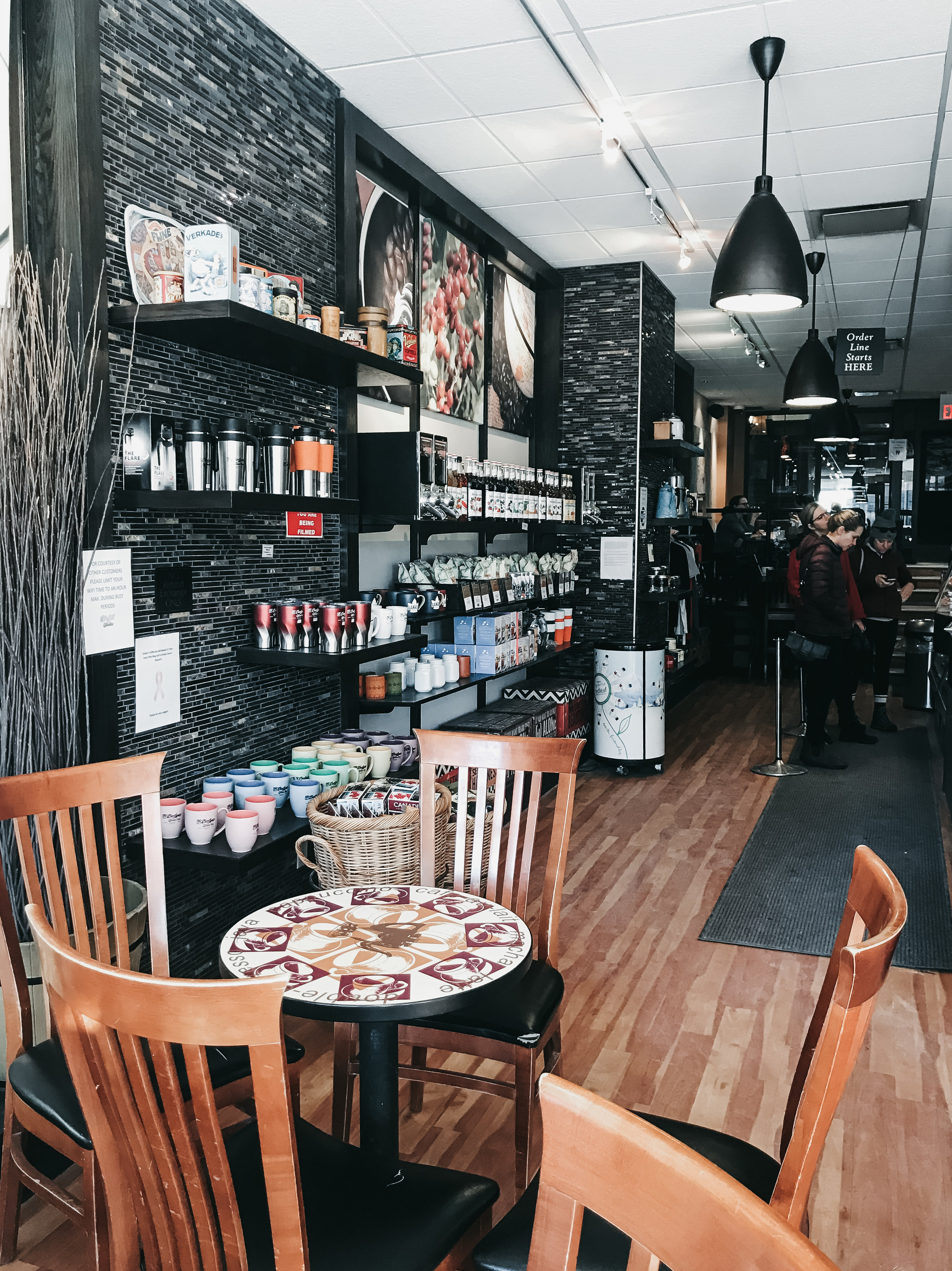 best coffee shops in banff   top cafe   Nicole Constante   Evelyns Coffee Banff