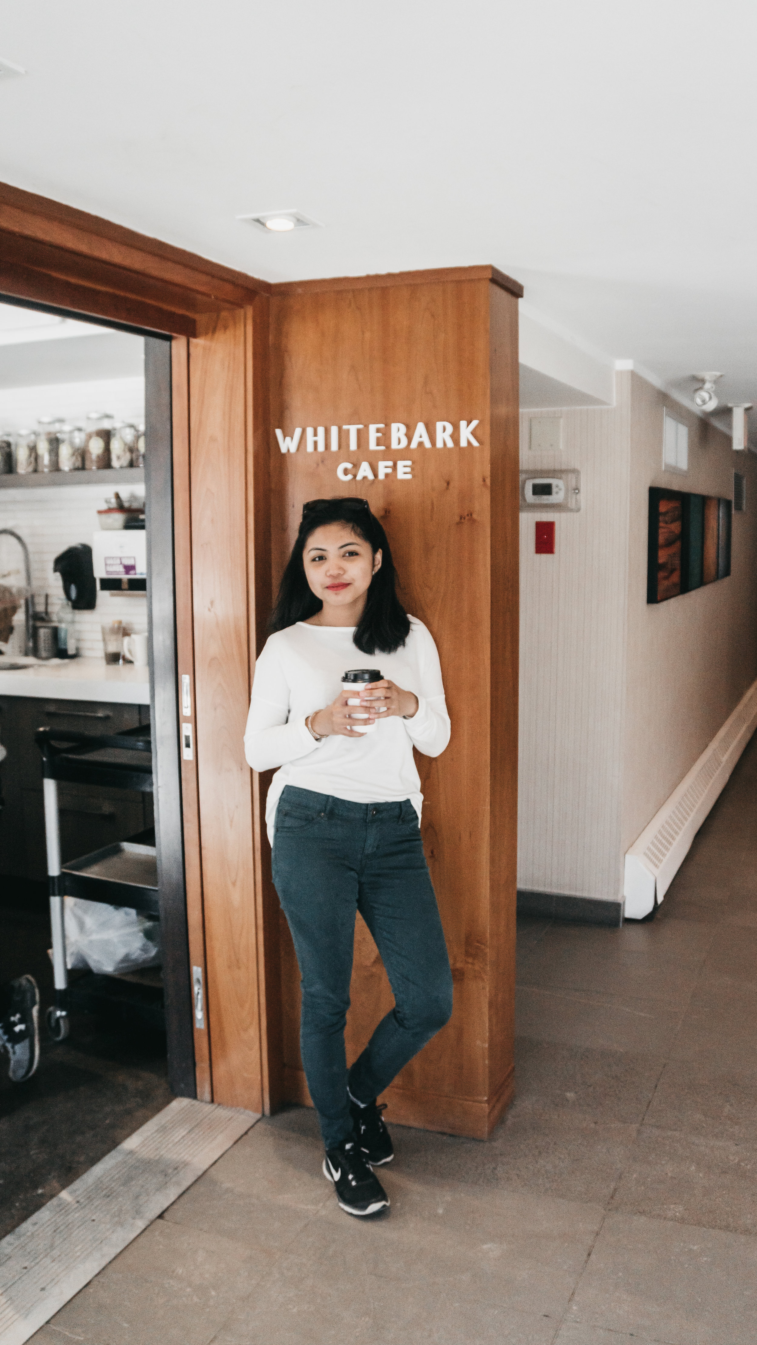 best coffee shops in banff | top cafe | Nicole Constante | White Bark Cafe