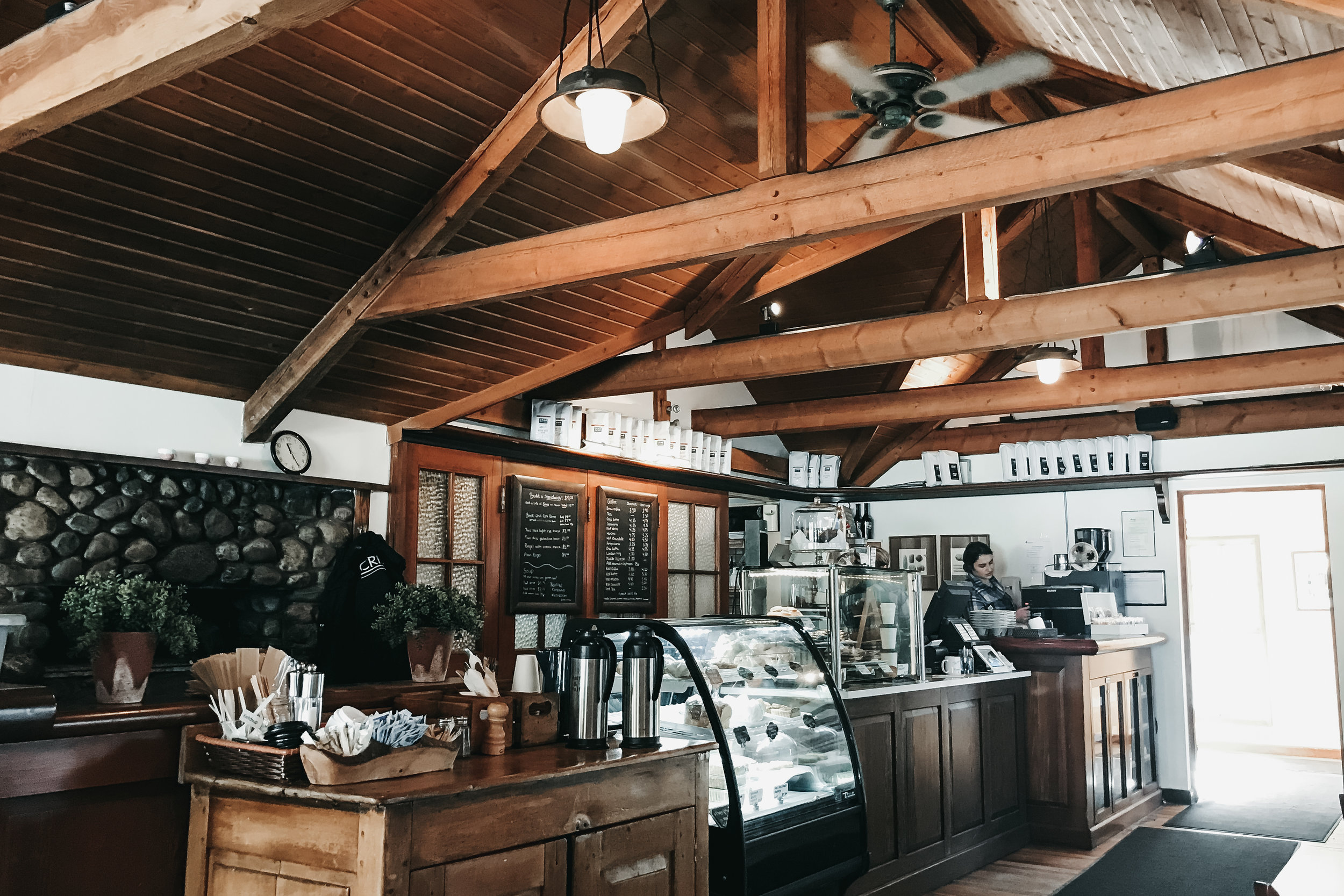 best coffee shops in banff | top cafe | Nicole Constante | Buffalo Mountain Cafe