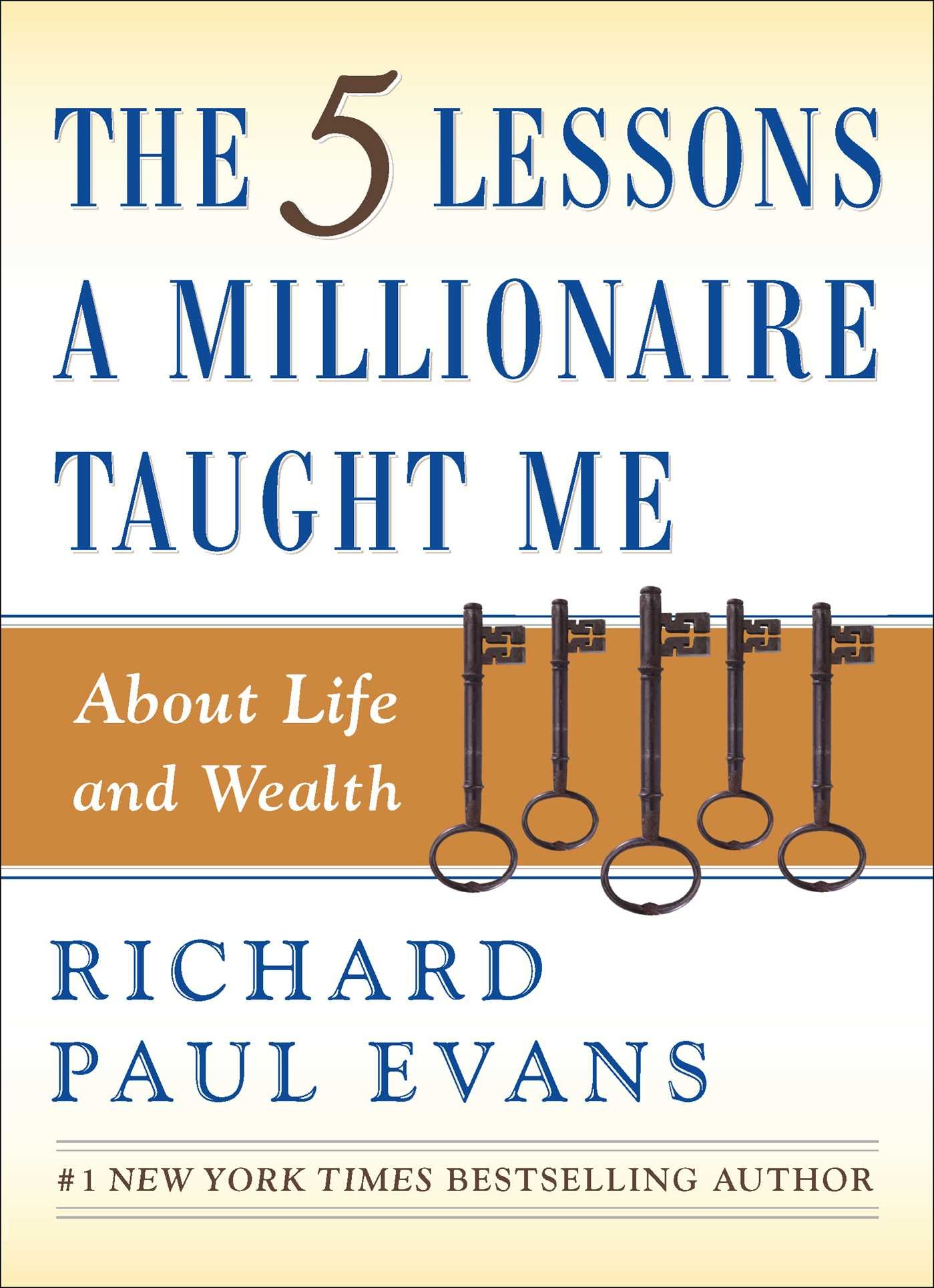 The Five Lessons A Millionaire Taught Me by RIchard Paul Evans | Money Mindset Books.jpg