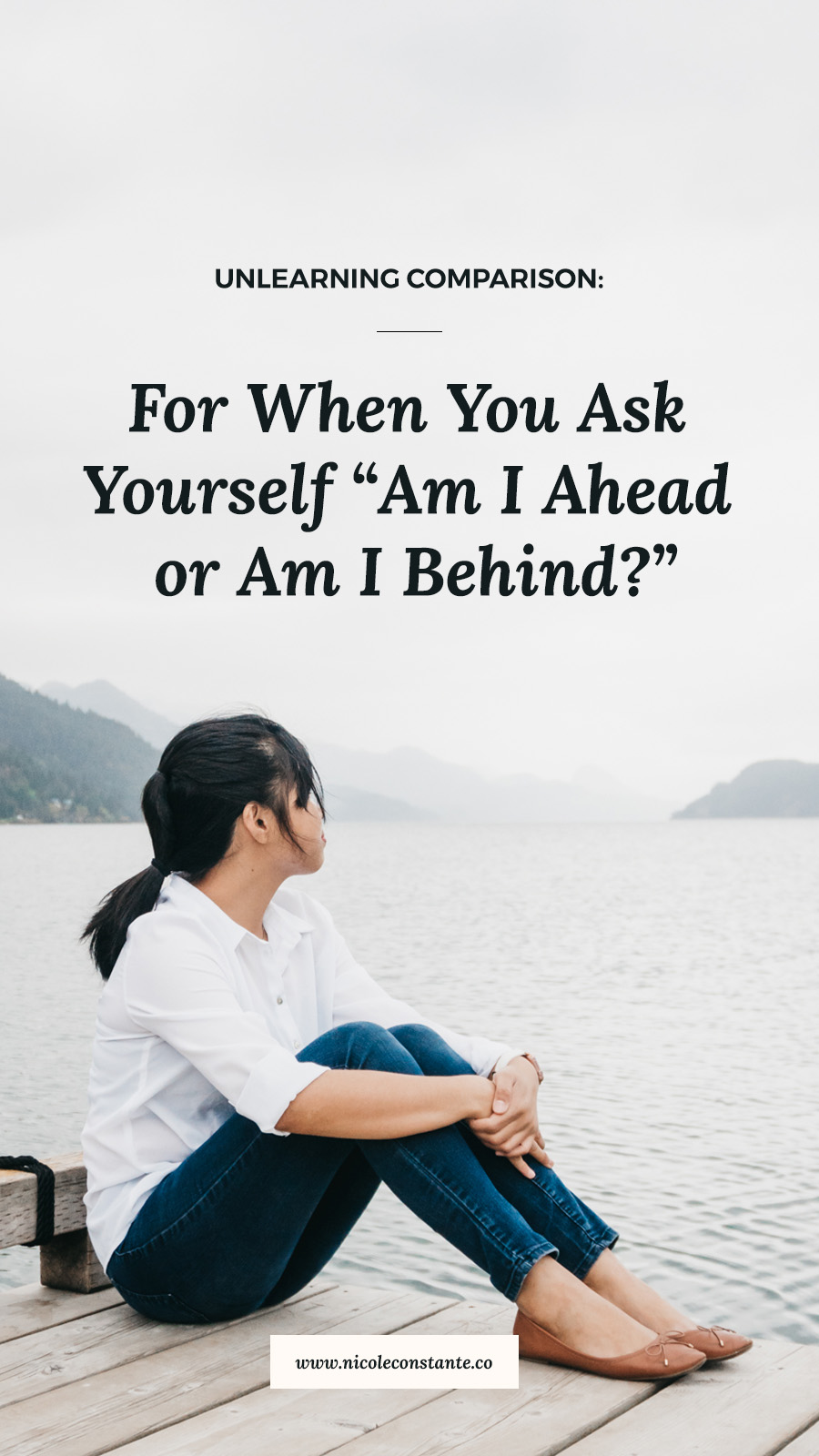 For When You Start Asking: Am I ahead Or Am I behind? | Unlearning Comparison