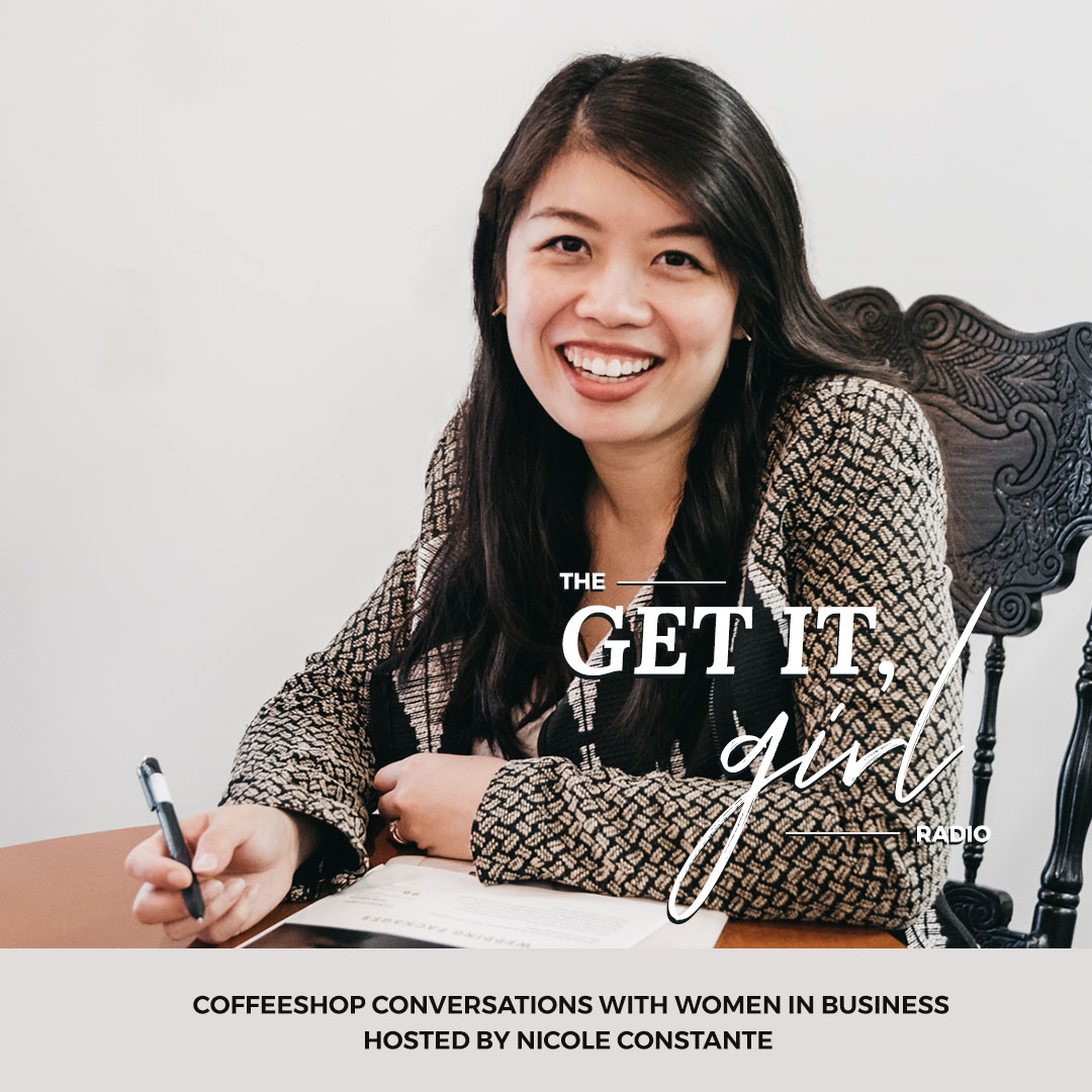 Ep. 9 | How To Put Yourself Out There As A Beginner with Sarah Valencia | Our Jonrah Events Edmonton | The Get It Girl Radio Podcast with Nicole Constante