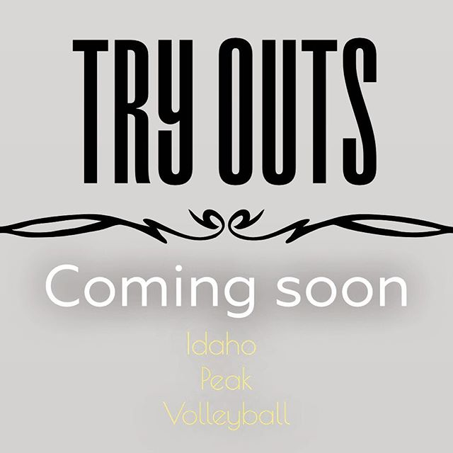 Who is ready for the start of club season 🙋🏽♀️ Everyone participating in Idaho Peak Volleyball Club this year, keep your eyes and ears open because we will post our tryout dates and registration instructions SOON! Check your favorite social media Idaho Peak page for updates on this upcoming club season! Also check our website (link the bio), we look forward to seeing you all soon! 💪🏼🔥🏐