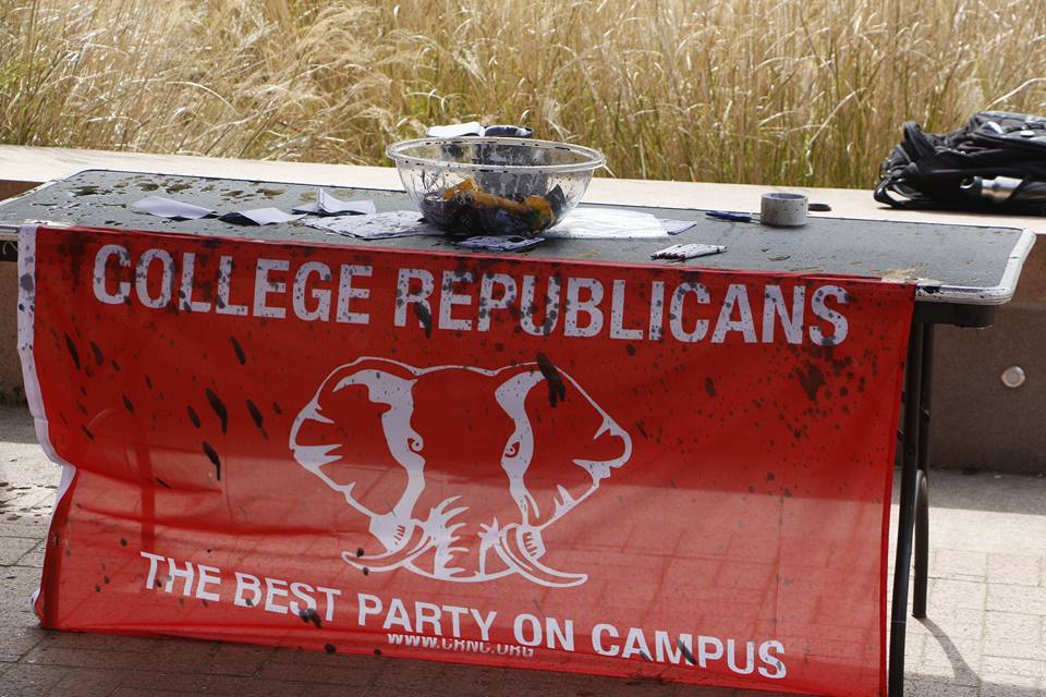 Police: UW College Republicans assaulted by Antifa affiliate; group targeted for second day -