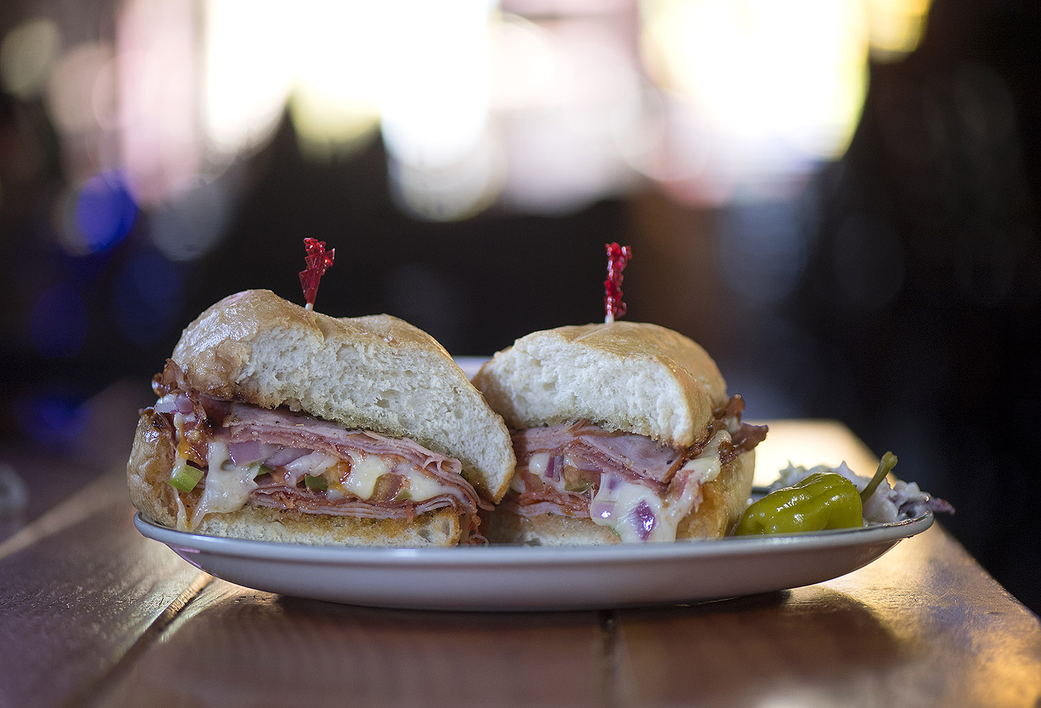 People travel for miles for one of the O.T.'s famous sandwiches.