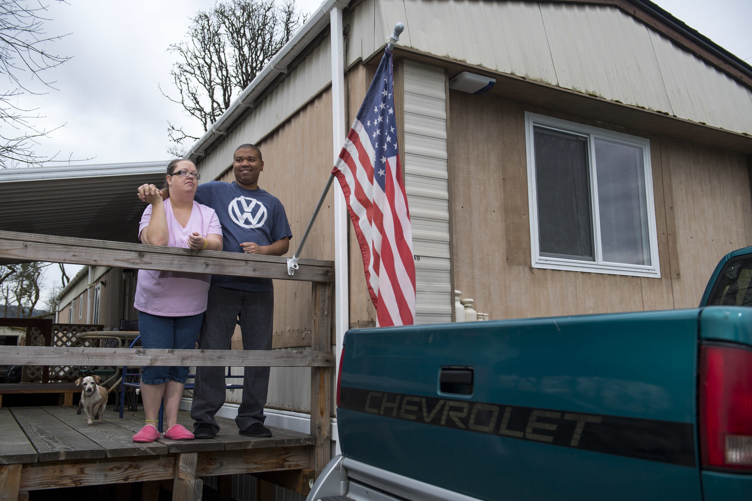 The Winders used a grant for veterans to fix up their home.
