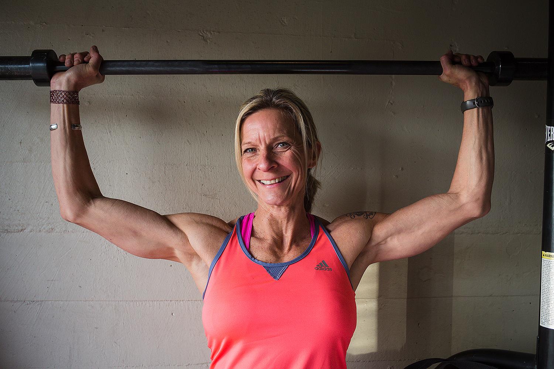 Next Level Fitness Training founder Andrea Bowden