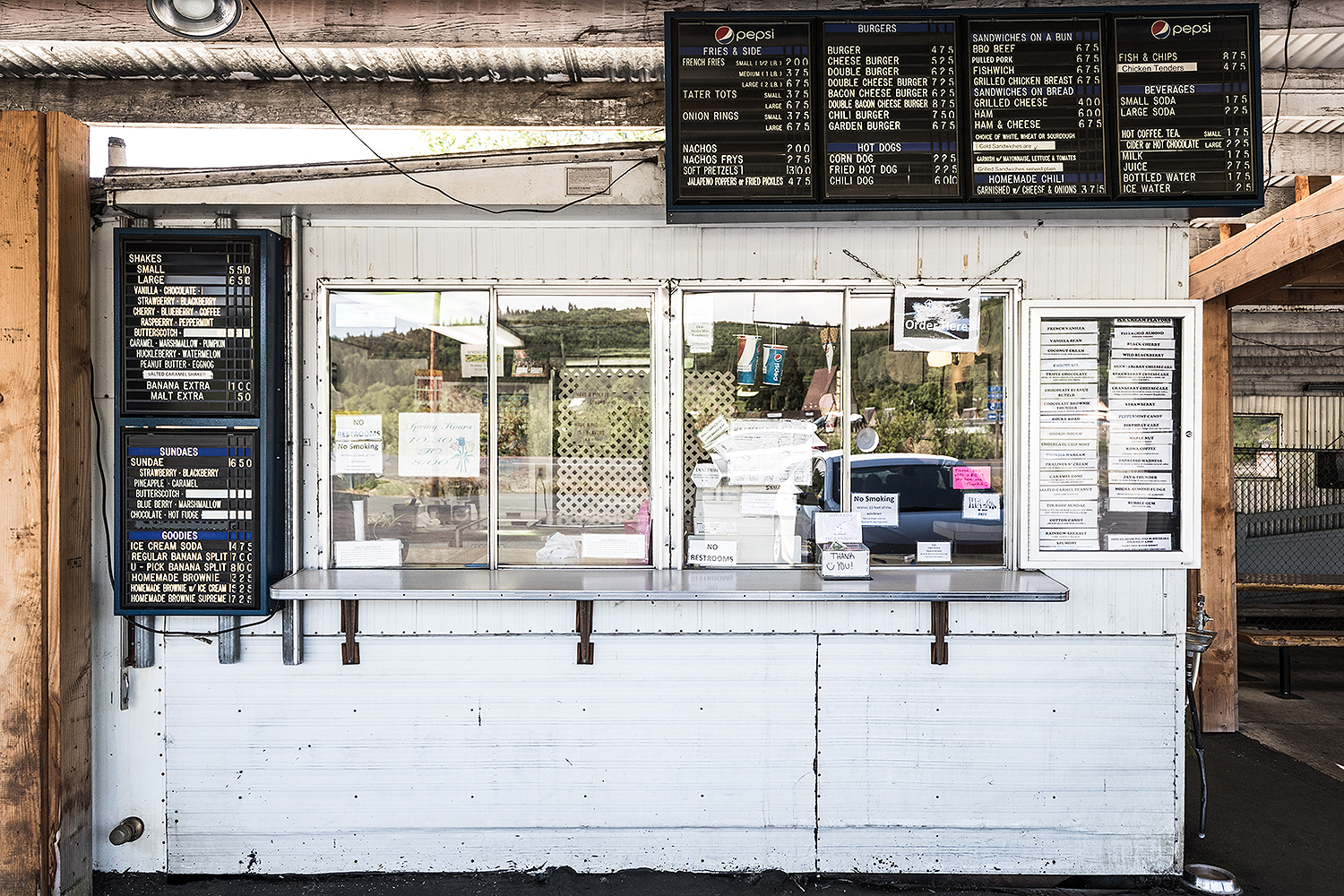 Don't be fooled by K&R's unassuming facade. It's hiding tasty treasures.