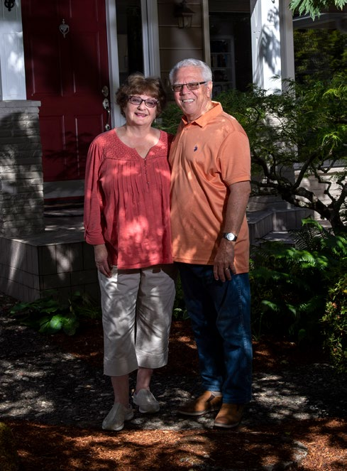 Lisa and Doug Hunter.
