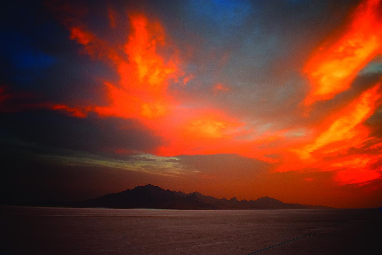 Photo of Bonneville Salt Flats by B. Lane Johns