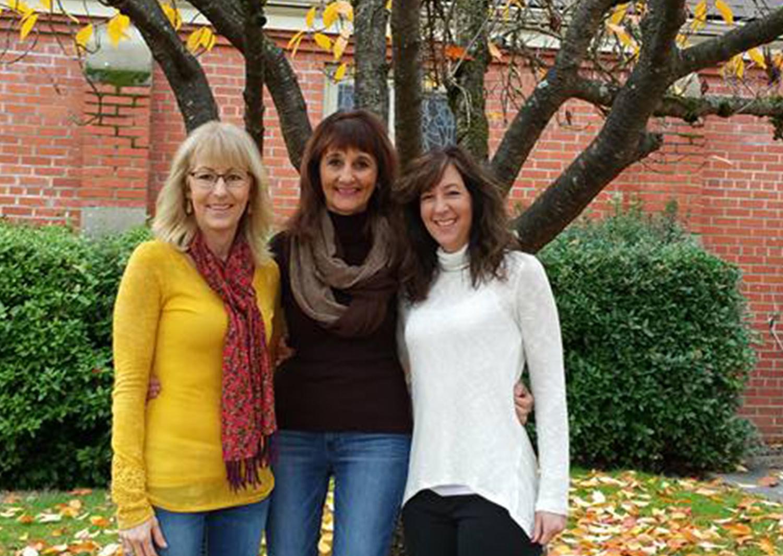 Whitestone's Lori Falls, Diana Schrock and Julie Alliman