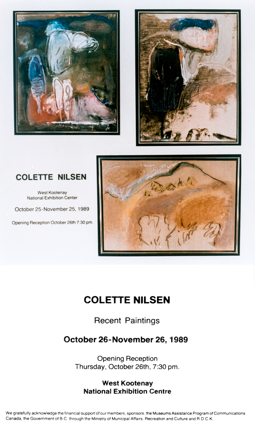 1989 West Kootenay exhibition