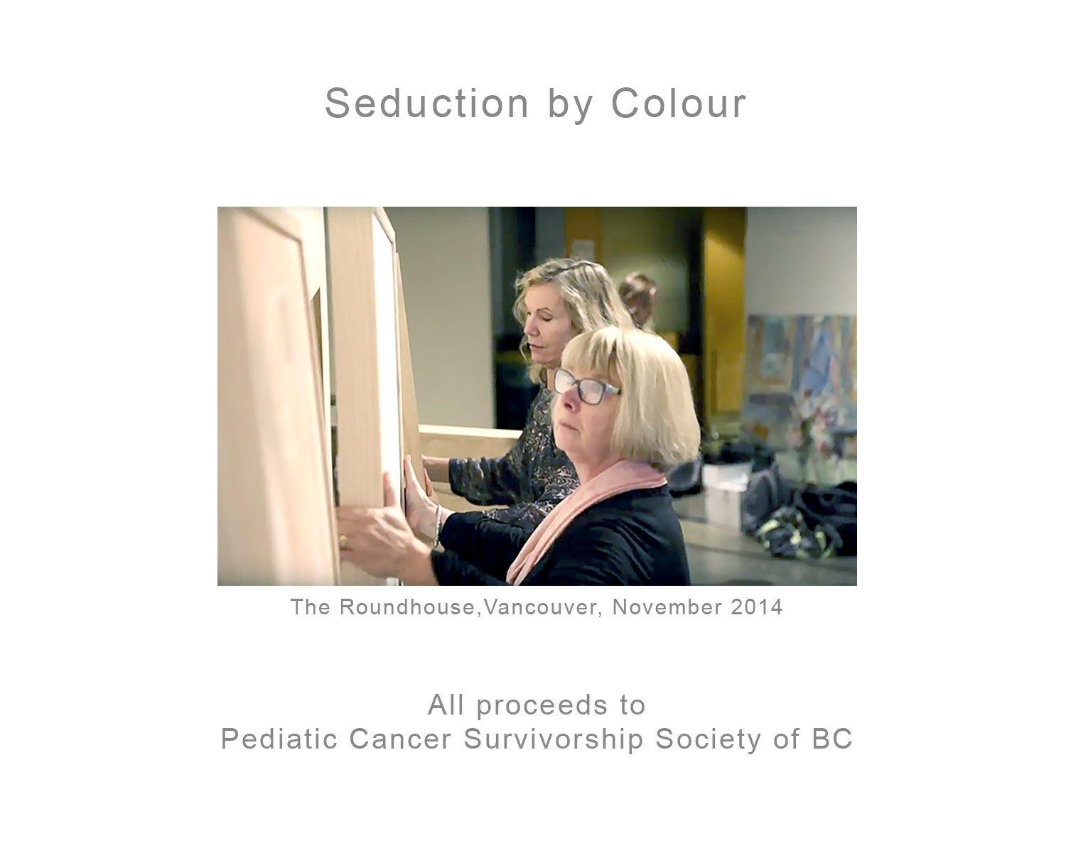 2014 Seduction by Colour Exhibition