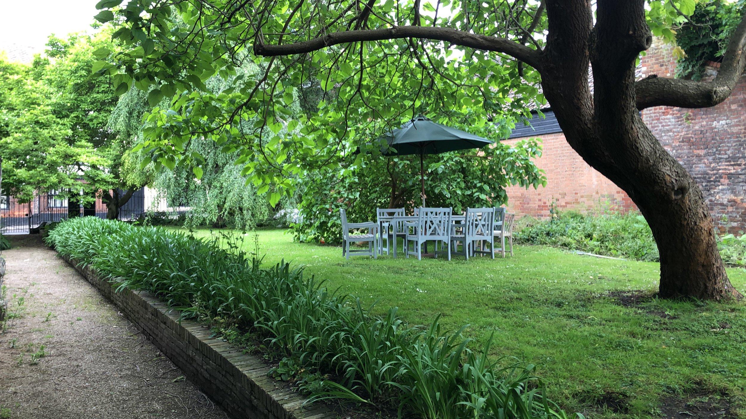 Garden space -