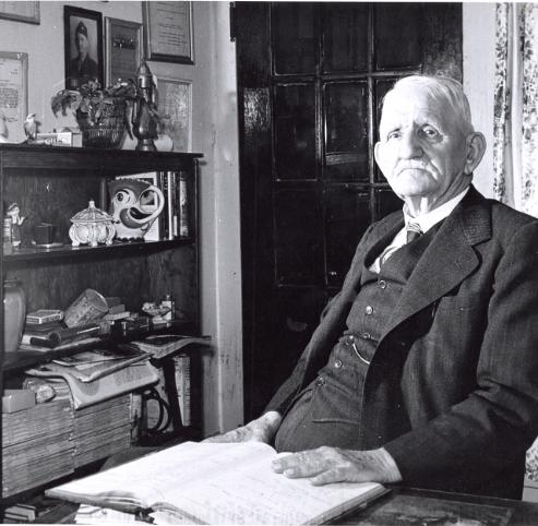 Captain McKewn Albergotti at the Kimbrell's Boarding House