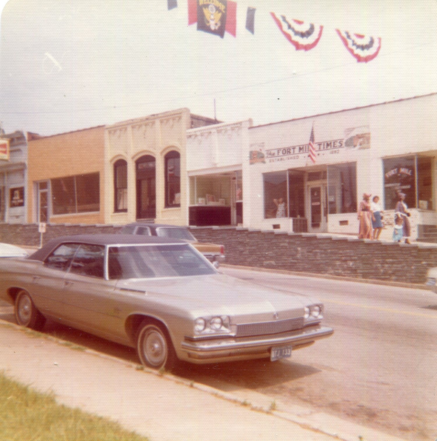 116 Main Street shown above when it was the Fort Mill Times