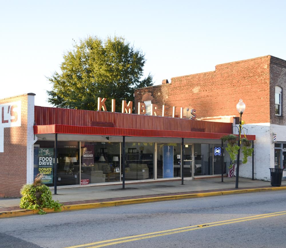 2017 - Kimbrell's Furniture store